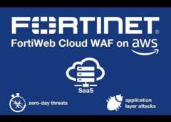 fortiweb cloud WAF on AWS