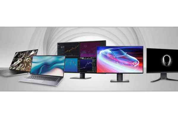 Dell new PCs & Displays 2020