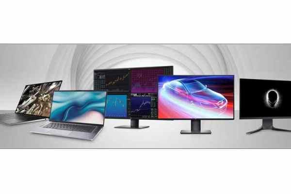 Dell new PCs & Displays 2020