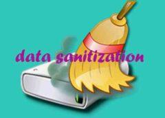 Data Sanitization