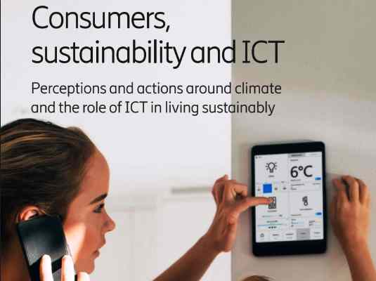 Consumers see tech innovation as critical for future sustainability