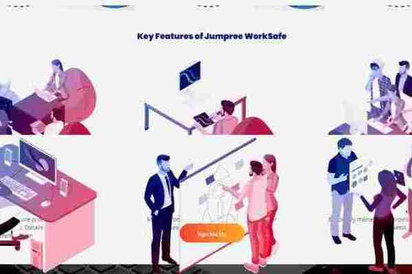 Smarten Spaces' Jumpree WorkSafe solution