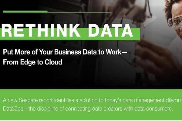 Seagate's new report reveals 68% of data available to businesses goes unleveraged