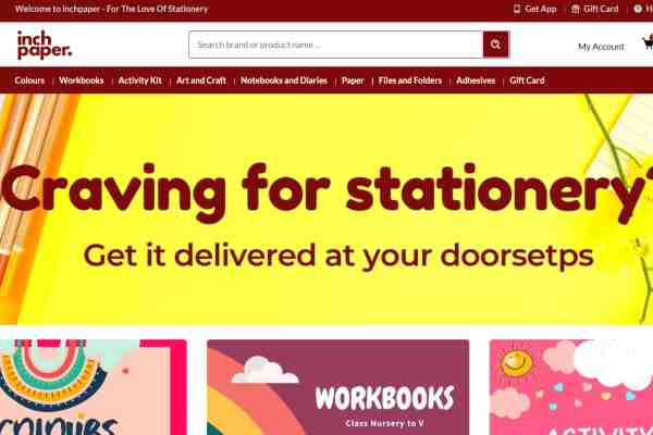 Inchpaper starts home-delivery operations