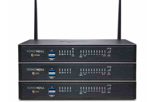 SonicWall TZ series desktop firewall to fight malware, ransomware