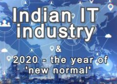 Indian IT industry and year 2020