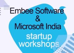 Embee Software and Microsoft India host startup workshops
