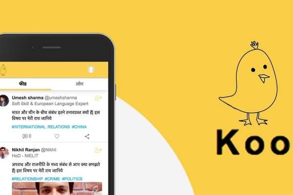 Koo - Indian micro-blogging app