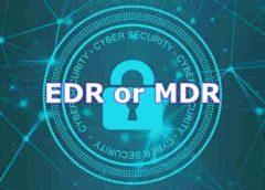 EDR or MDR