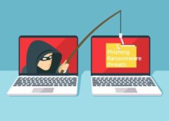 phishing ransomware threats