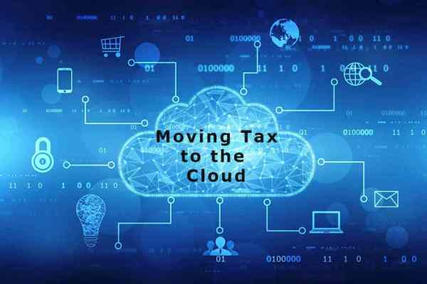 Moving tax to the cloud